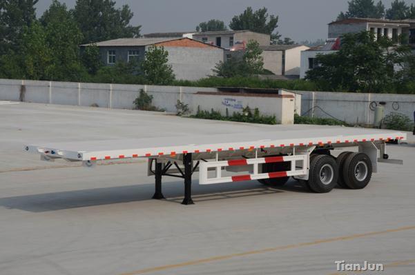40英尺双桥平板半挂车