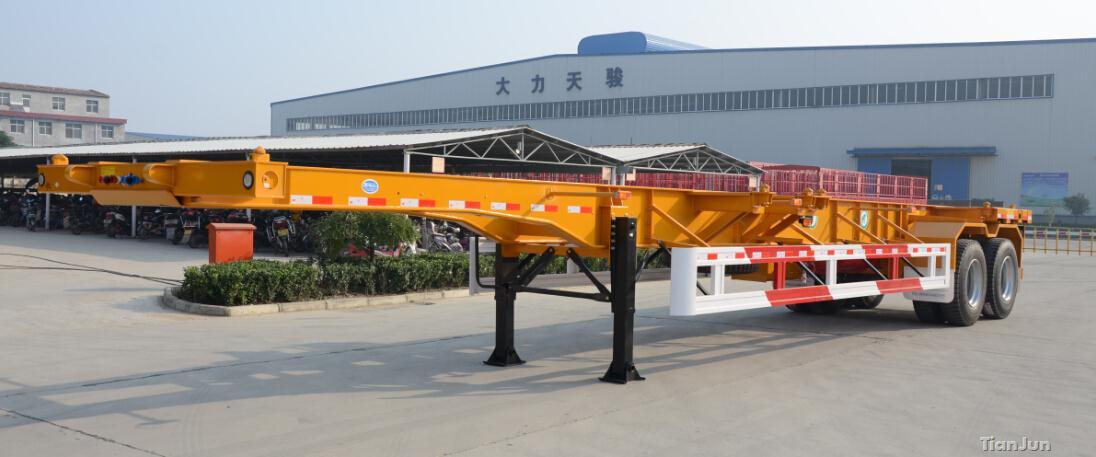 40英尺直梁骨架车
